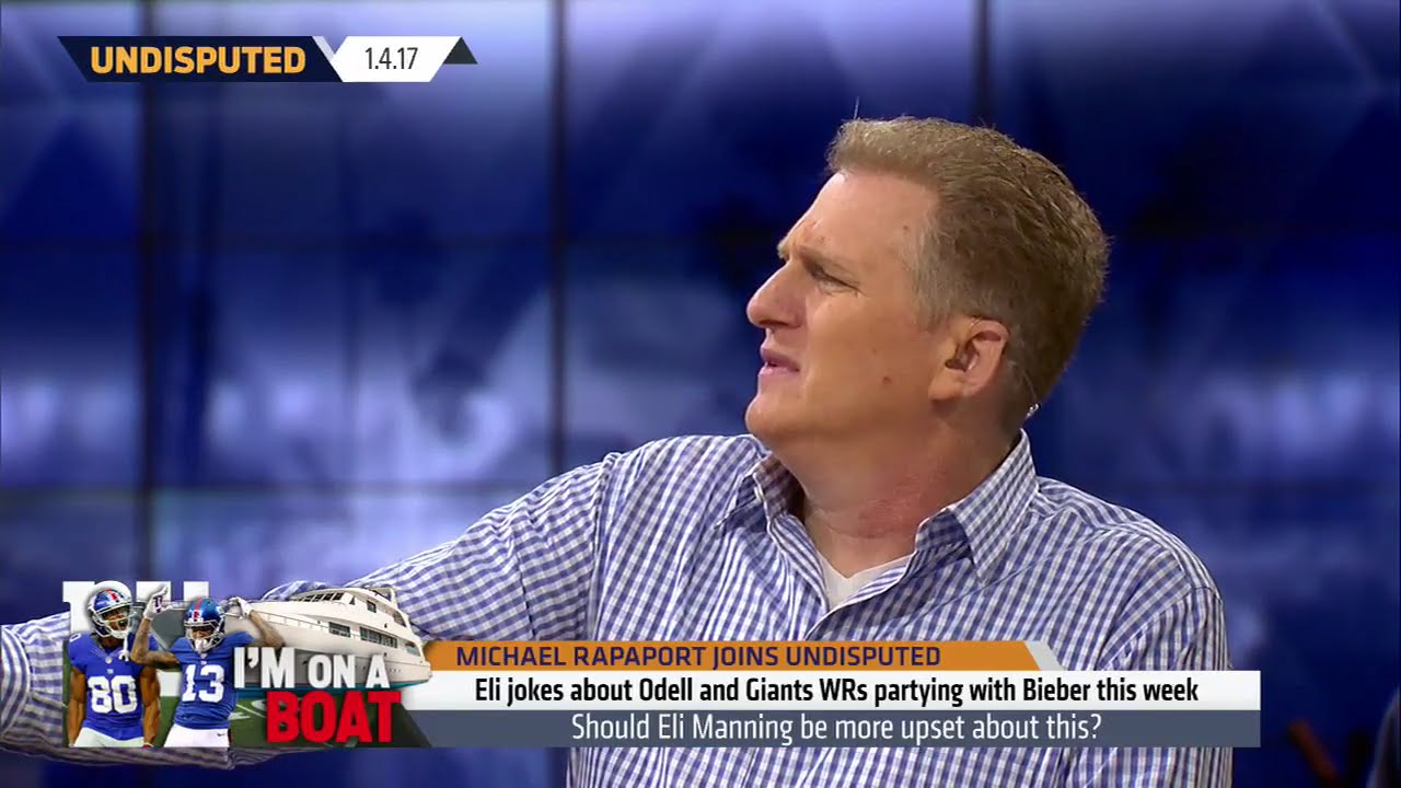 Michael Rapaport speaks on Odell Beckham Jr.'s partying in Miami