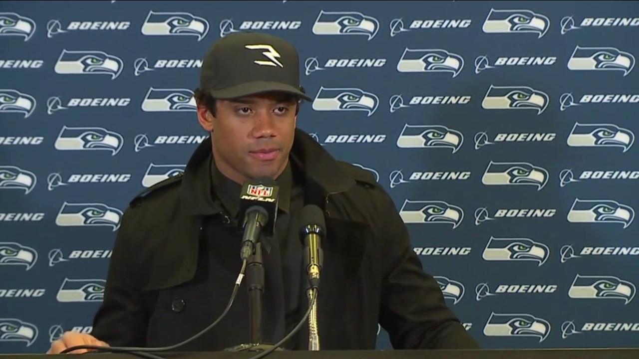 Russell Wilson speaks on the Seahawks season & loss to Atlanta
