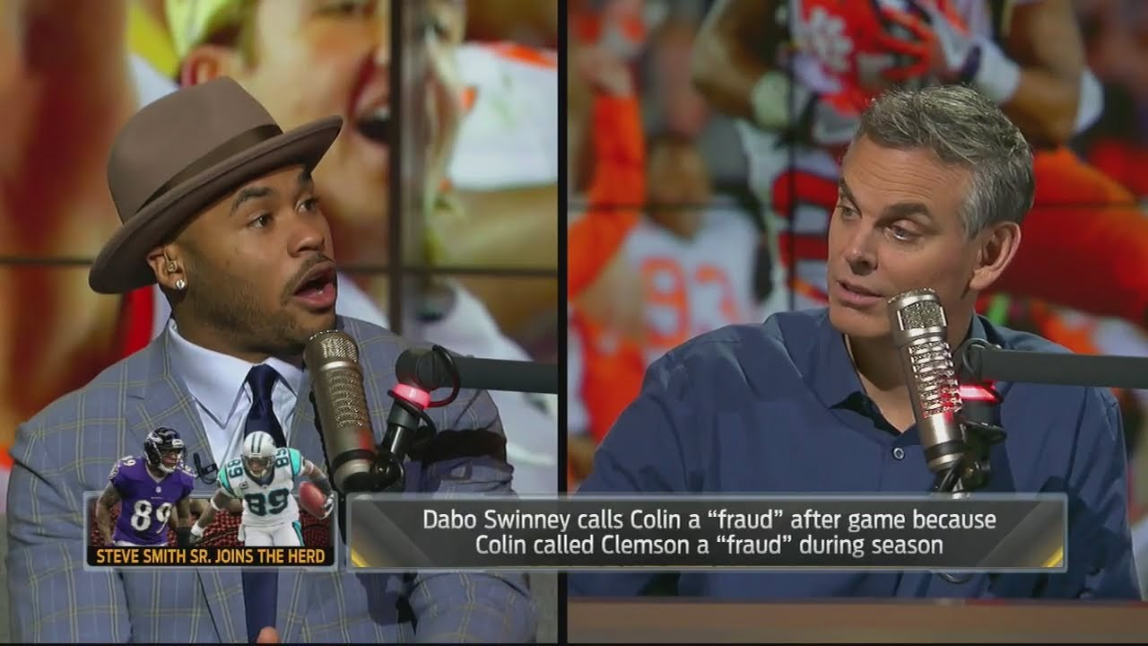 Steve Smith gvies his takes on Colin Cowherd's