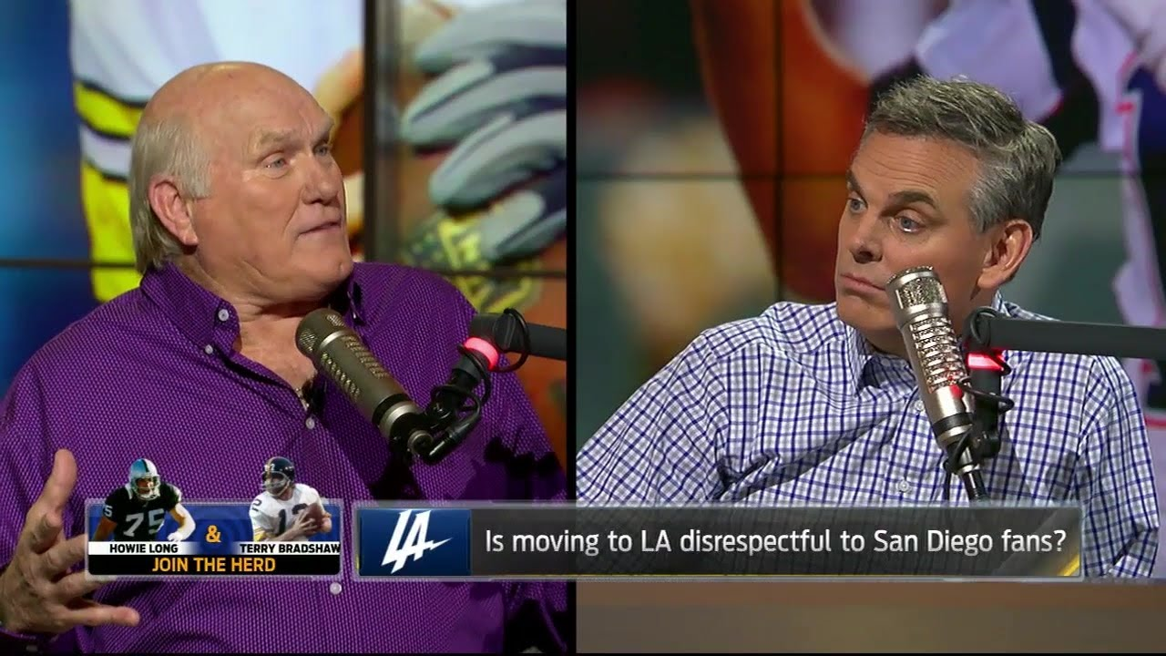 Terry Bradshaw & Howie Long talk Chargers move to Los Angeles