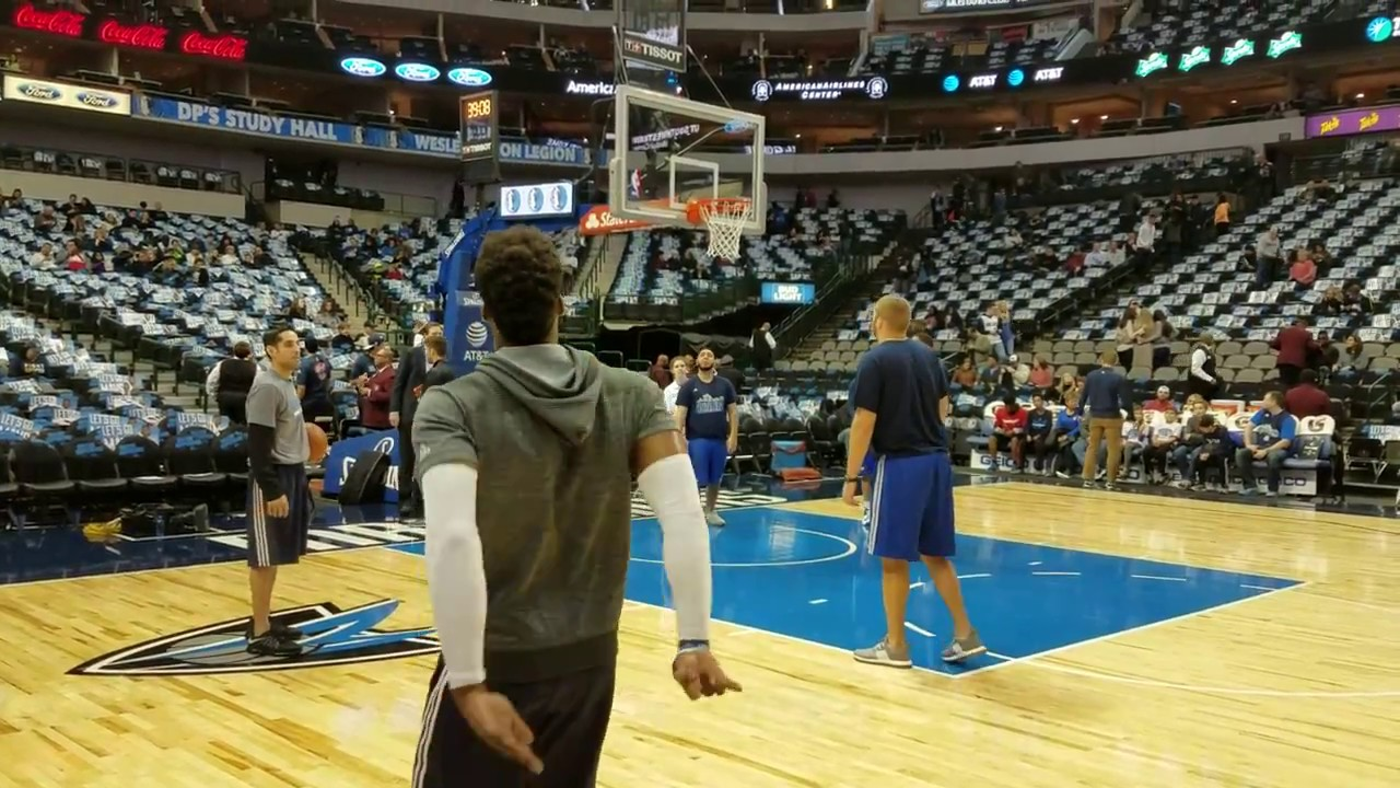 Wesley Matthews buries 3-pointers like they're free throws (Fanatics View Exclusive)