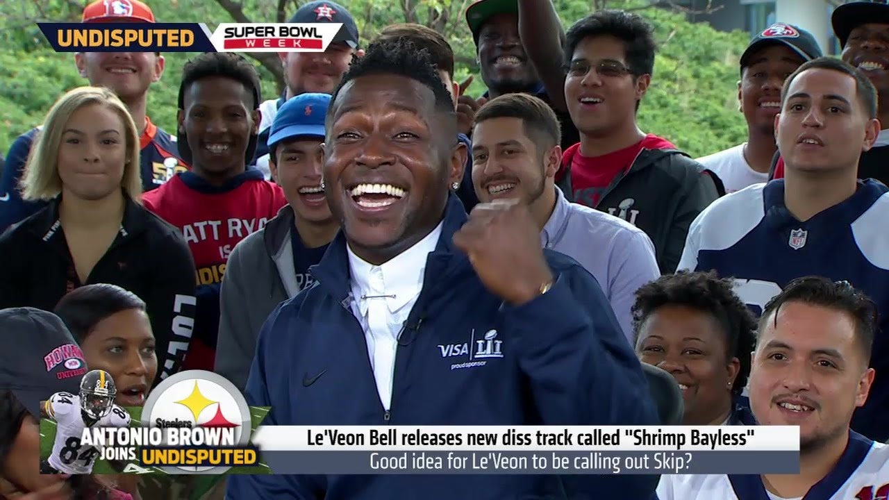 Antonio Brown responds to Shannon Sharpe's Facebook Live criticism