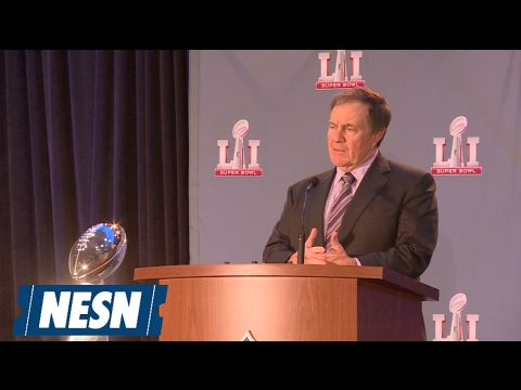 Bill Belichick speaks on the Patriots Super Bowl comeback victory