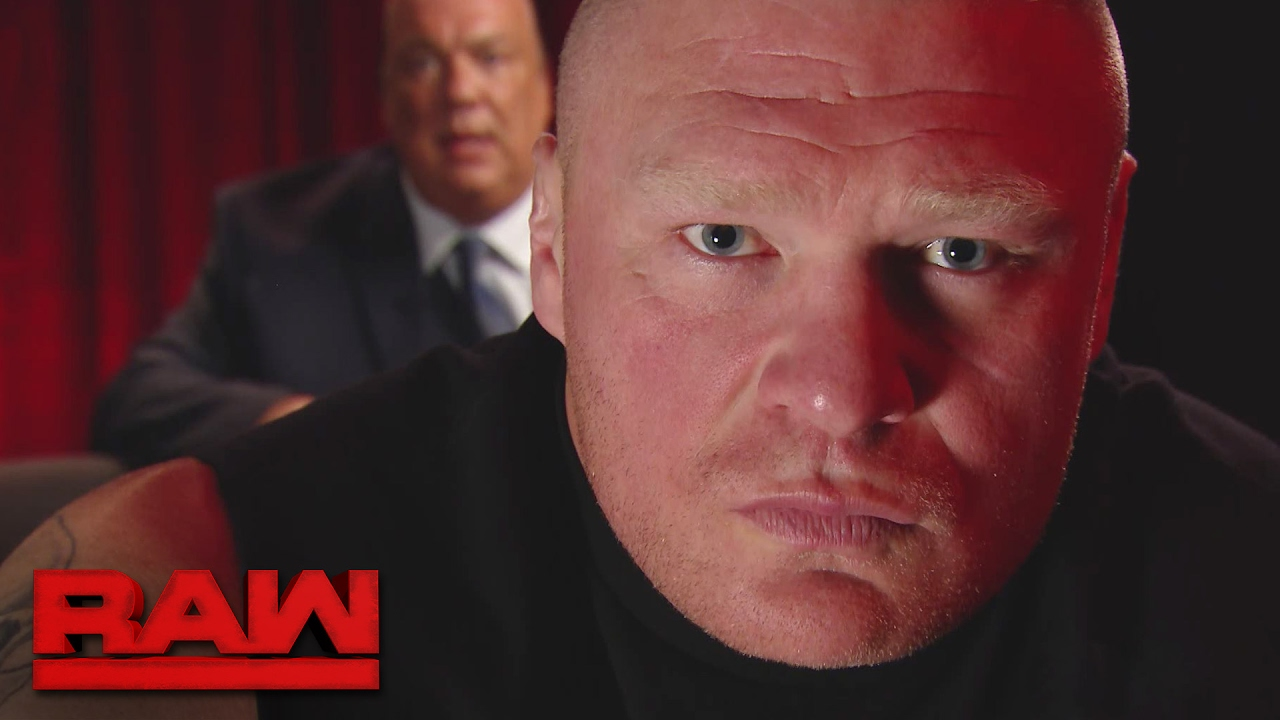 Brock Lesnar issues a warning to Goldberg