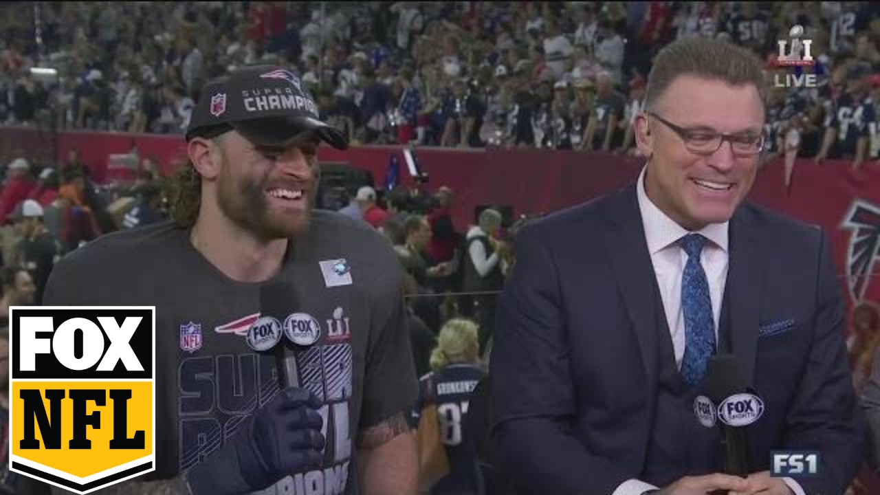 Chris Long shares his Super Bowl win with Howie Long