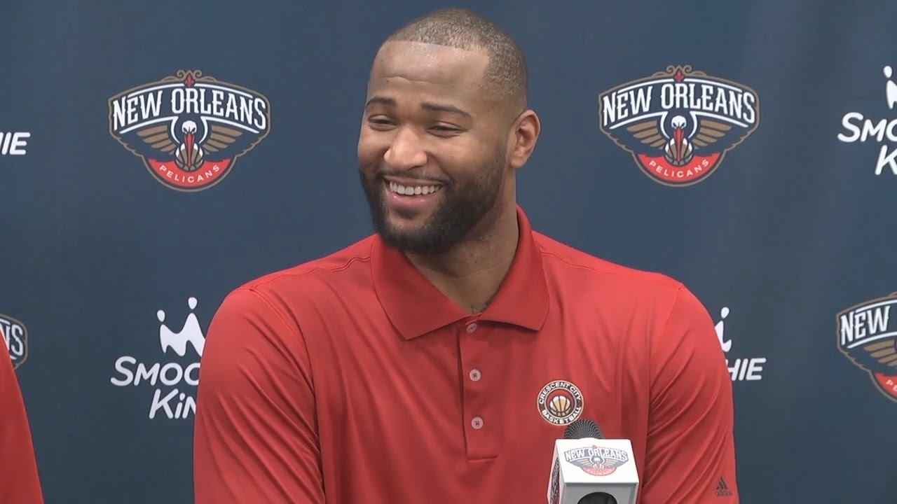 DeMarcus Cousins full New Orleans Pelicans introductory press conference