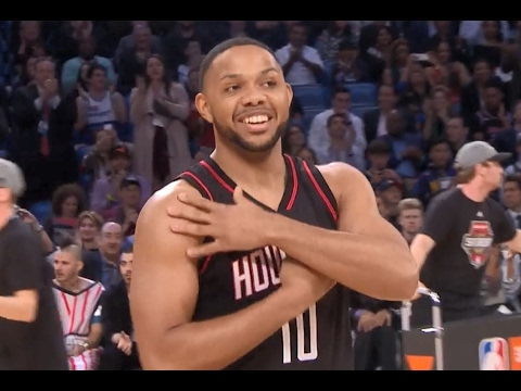 Houston's Eric Gordon wins the 3-Point Contest