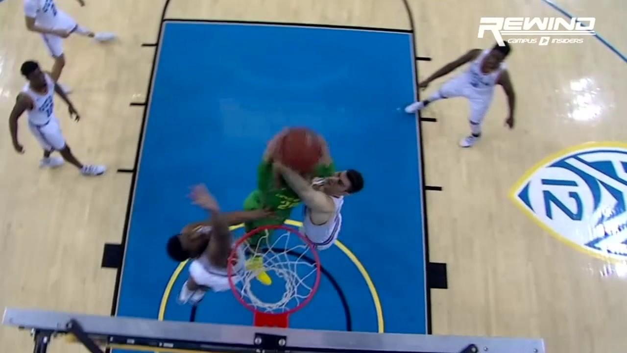 Oregon's Dillon Brooks throws down a vicious slam on UCLA