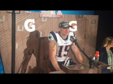 Patriots WR Chris Hogan speaks on his journey to the Super Bowl