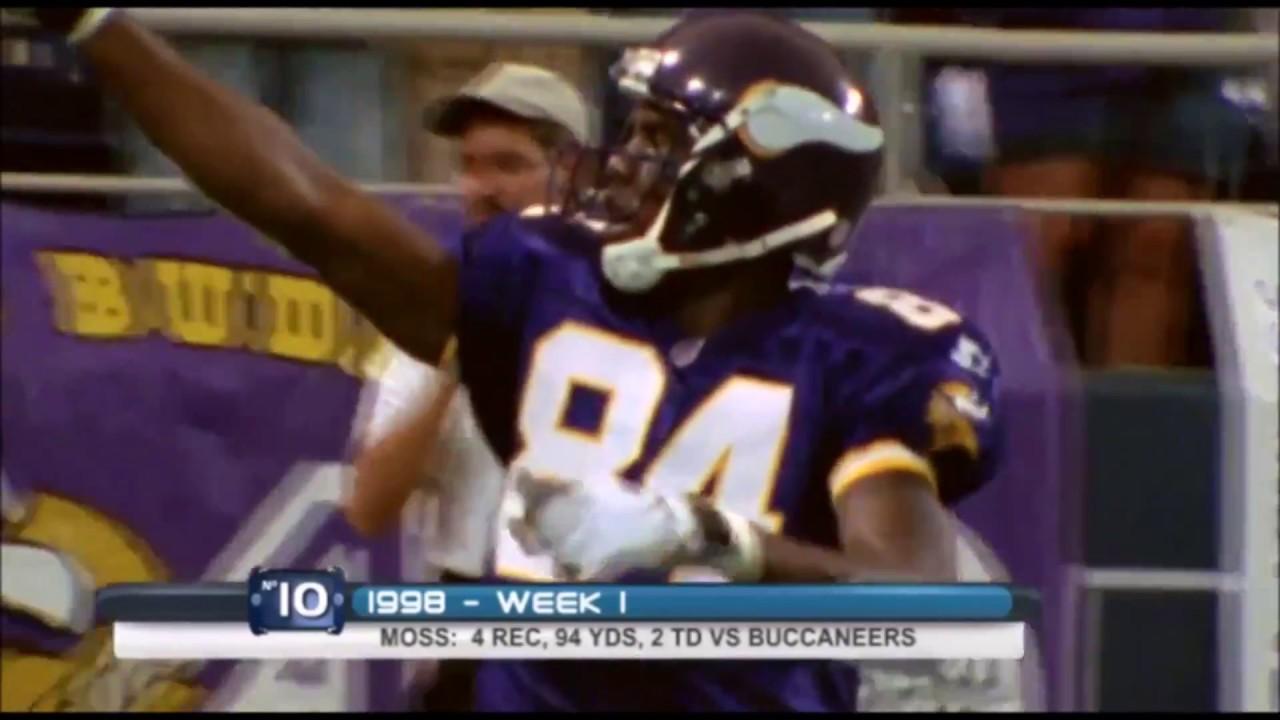 Randy Moss' Top 10 moments as a Minnesota Viking
