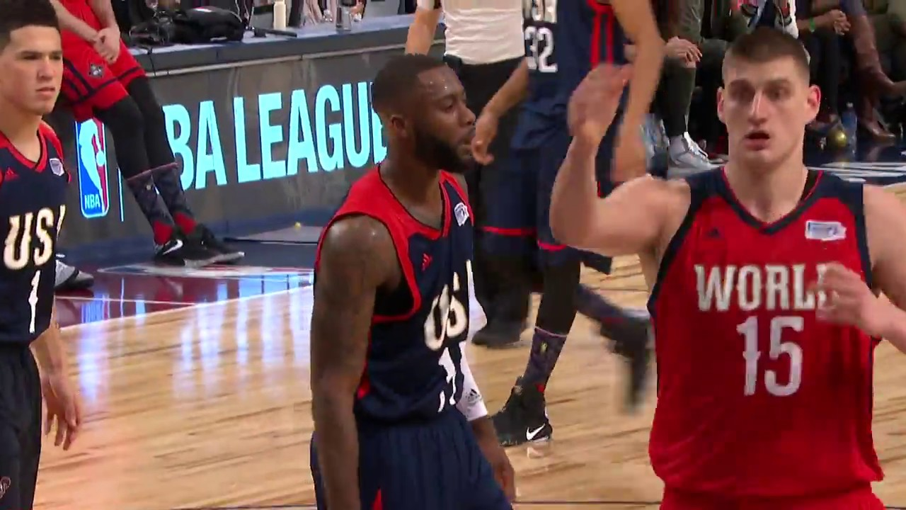 Someone forgot to tell Jonathan Simmons they don't play defense in All Star games