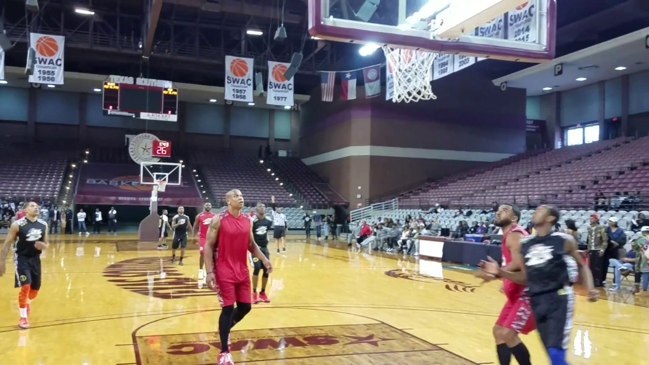 Terrell Owens buries a 3-pointer at Texas Southern (FV Exclusive)