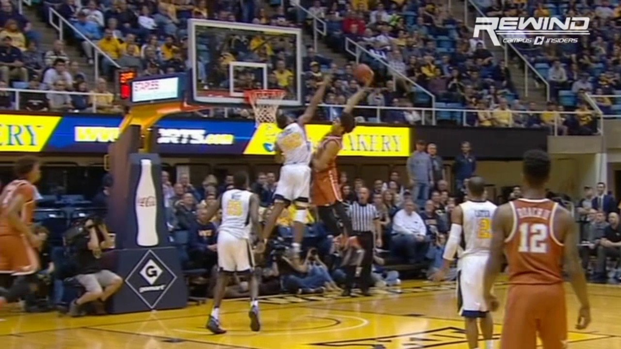 Texas' Jarrett Allen throws down possibly the dunk of the year