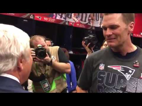 Tom Brady says someone stole his Super Bowl LI jersey after the game