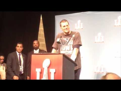 Tom Brady speaks on the Patriots incredible Super Bowl comeback win