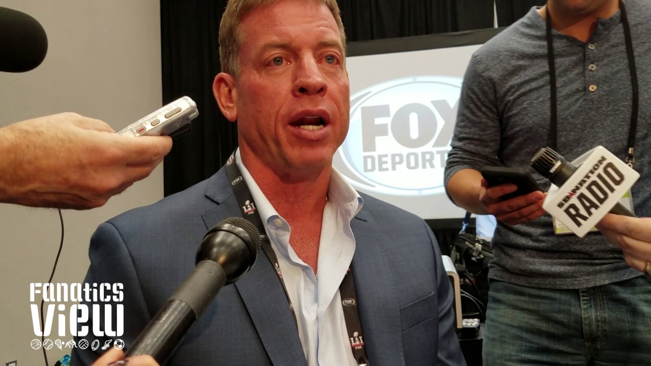 Troy Aikman speaks on Chargers move to LA, Jay-Z meme & Jerry Jones (FV Exclusive)