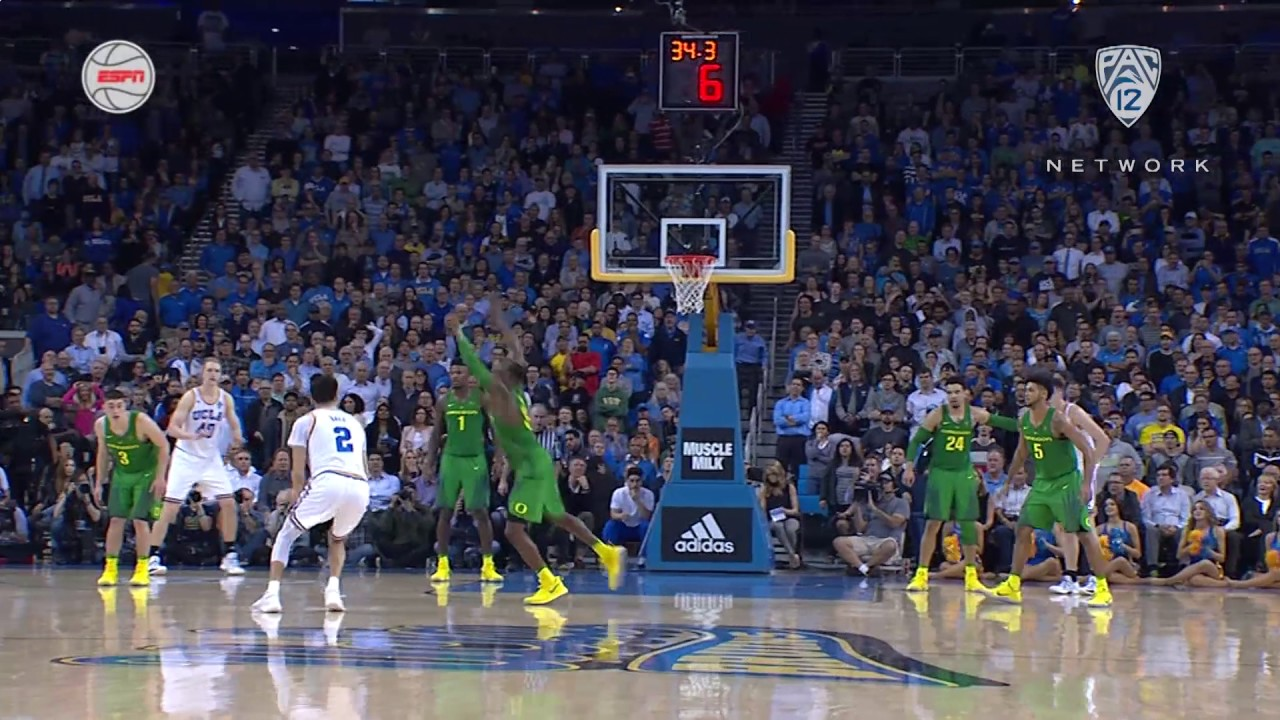 UCLA's Lonzo Ball hits unreal step back jumper vs. Oregon