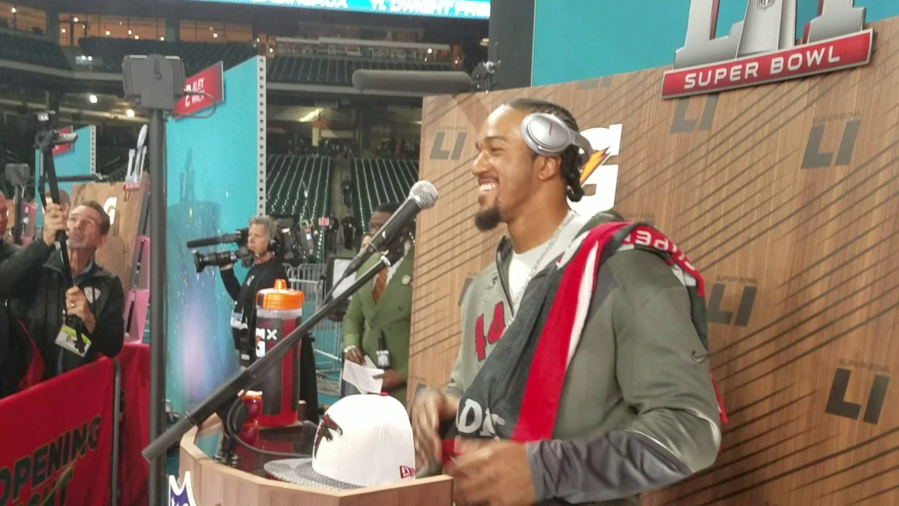 Vic Beasley can't name a Lady Gaga song (FV Exclusive)