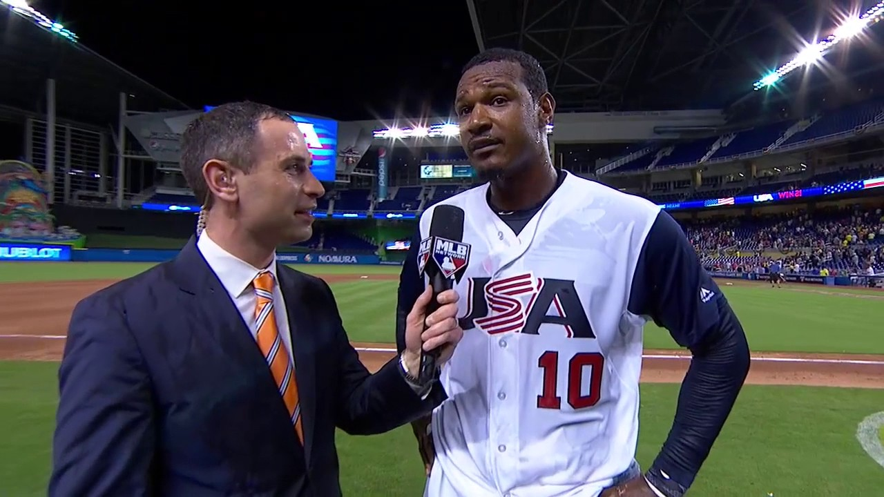Adam Jones speaks on his walk off hit for Team USA