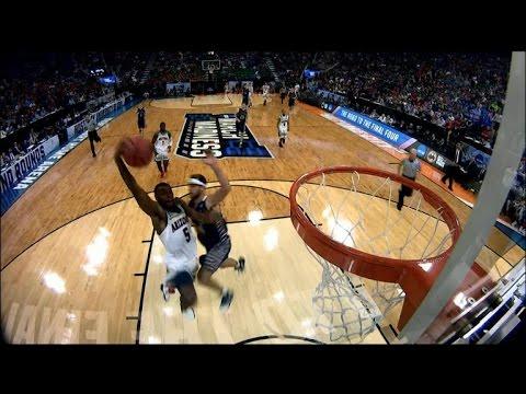 Arizona's Kadeem Allen turns a steal into a poster dunk