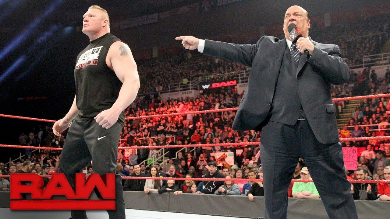 Brock Lesnar aims to shatter Goldberg at WrestleMania