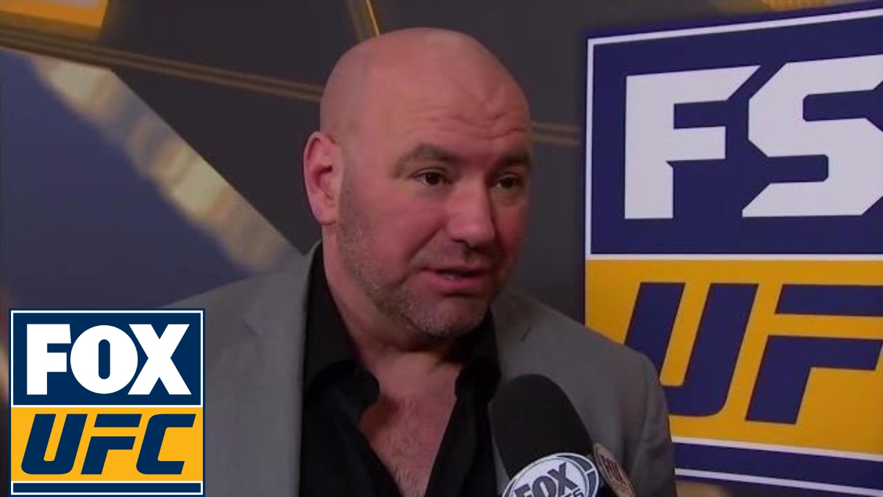 Dana White thought Stephen Thompson beat Tyron Woodley
