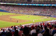 "Dominican Republic fans chant ""MVP"" at Robinson Cano"