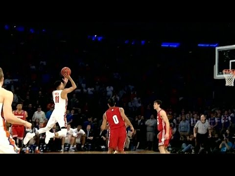 Florida's Chris Chiozza hits buzzer beater to beat Wisconsin in OT