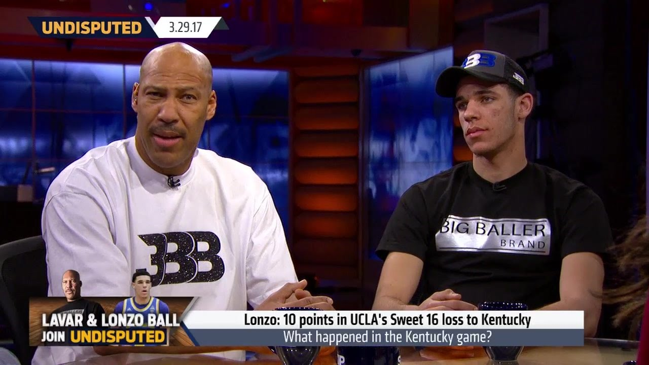 LaVar Ball & Lonzo Ball speak on a Ball reality show with Skip Bayless & Shannon Sharpe