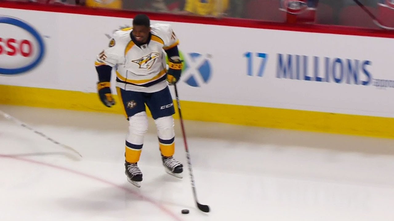 P.K. Subban returns to massive cheers in Montreal
