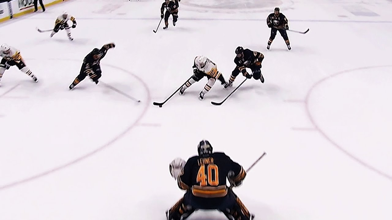 Sidney Crosby scores beautiful one-handed goal vs. Buffalo
