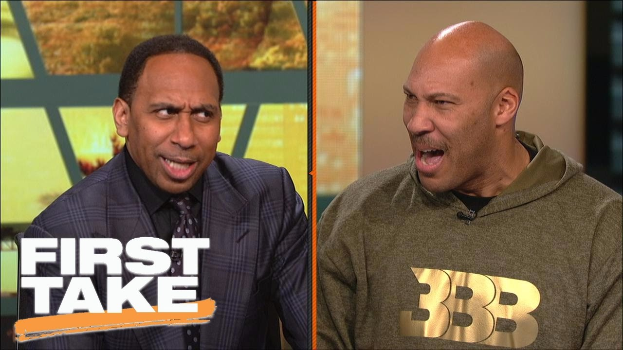 Stephen A. Smith & LaVar Ball shout at each other over Michael Jordan debate