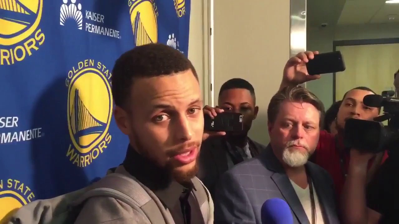 Stephen Curry speaks on scuffle with Russell Westbrook & Oklahoma City