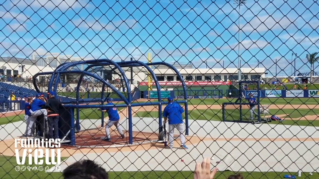 Tim Tebow batting practice with Mets at Spring Training (Part 2 - FV Exclusive)