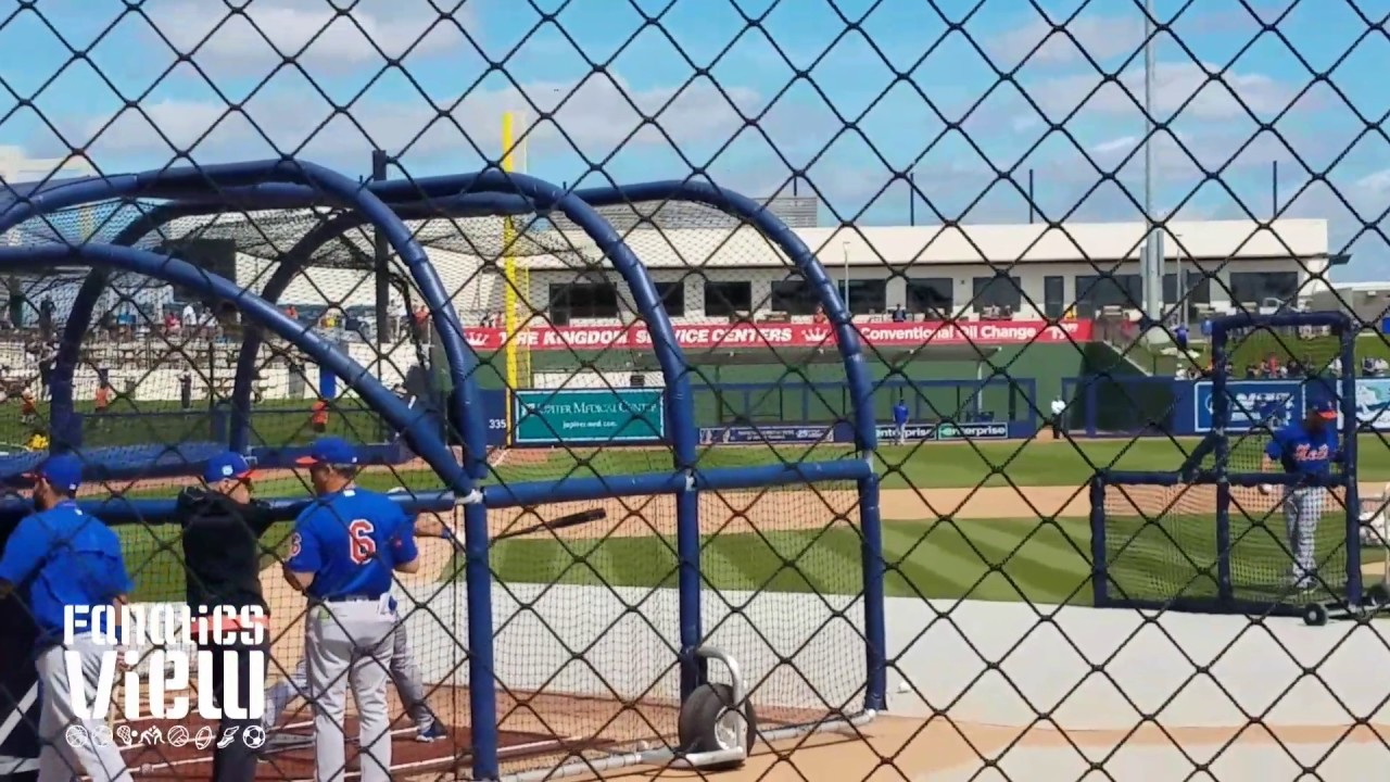Tim Tebow batting practice with Mets at Spring Training (Part 3 - FV Exclusive)