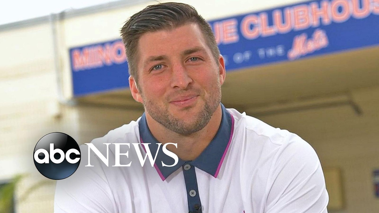 Tim Tebow speaks with Michael Strahan on Good Morning America