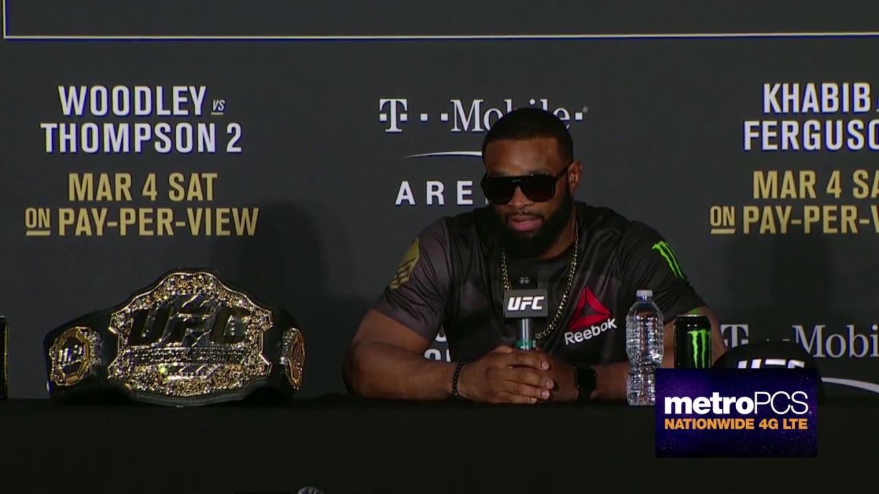 Tyron Woodley speaks on beating Stephen Thompson at UFC 209