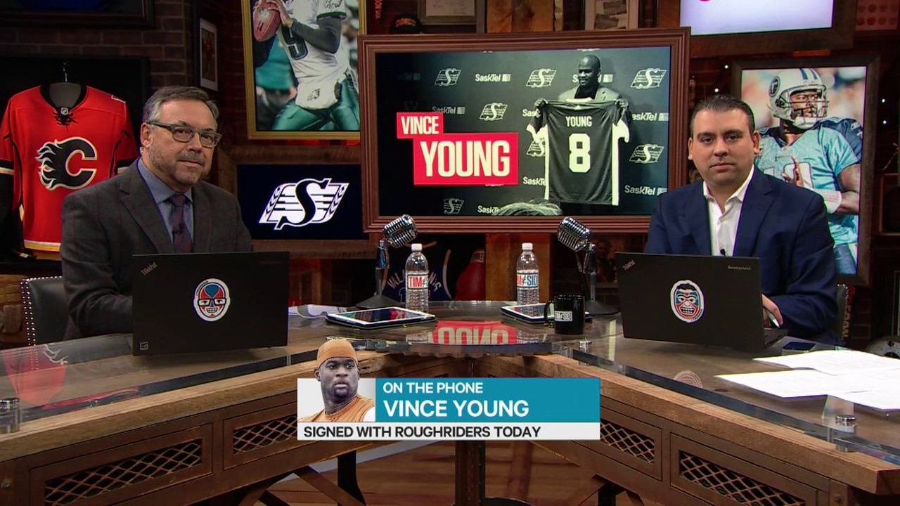 Vince Young speaks on his Pro Football comeback with Tim & Sid