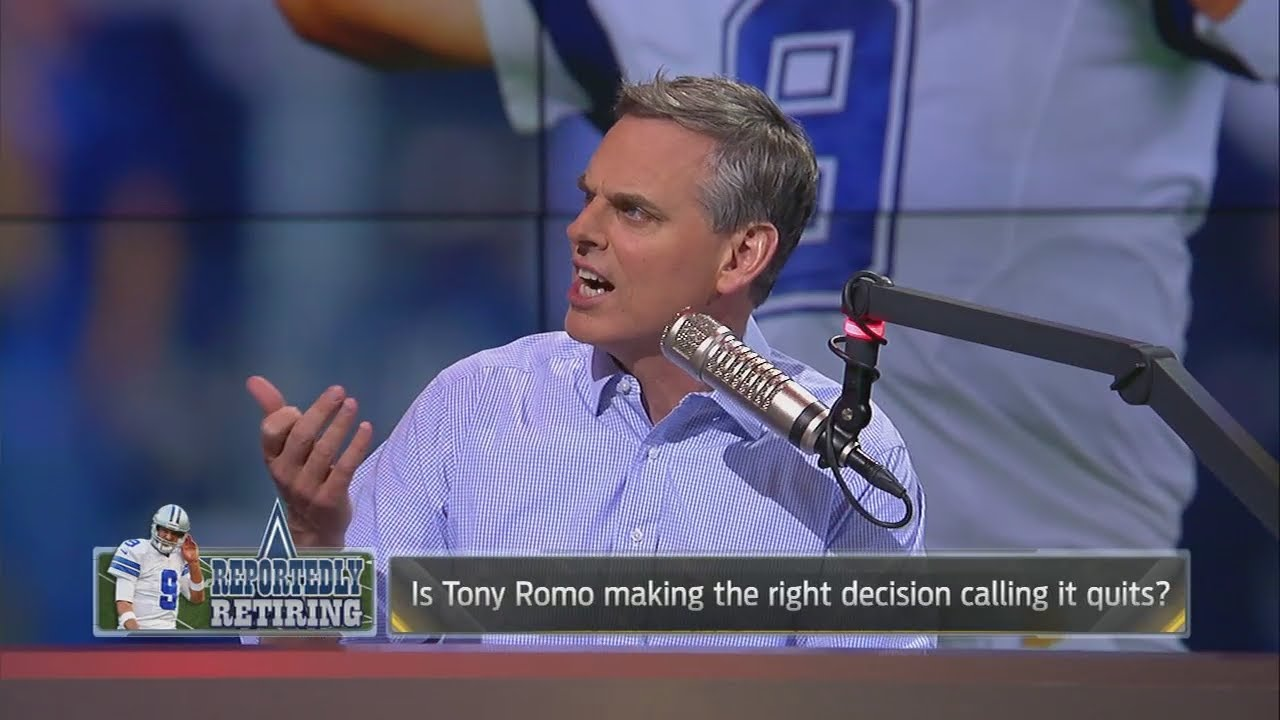Colin Cowherd wonders how good Tony Romo will be as a sports broadcaster