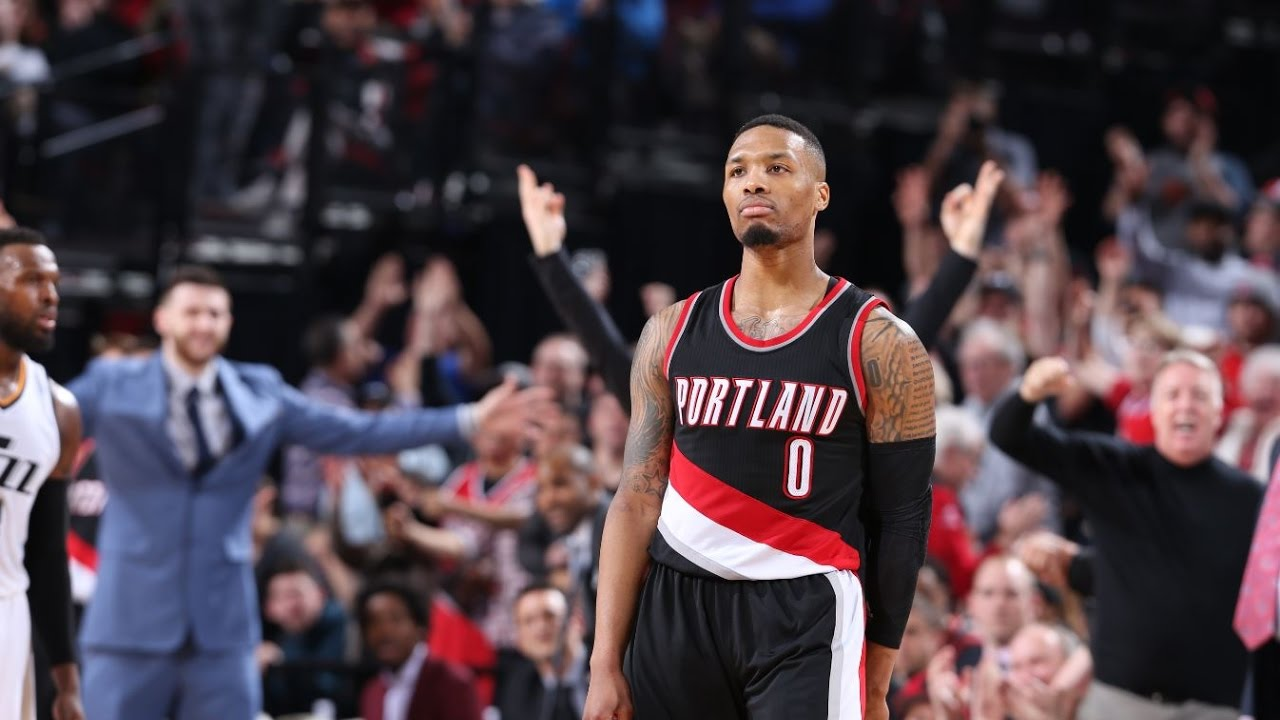 Damian Lillard scores a career high 59 points vs. Utah