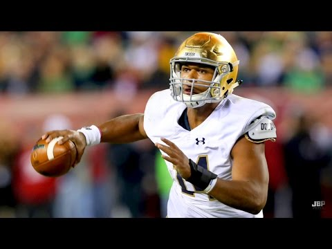 Fanatics View Draft Profile - DeShone Kizer (QB – Notre Dame)