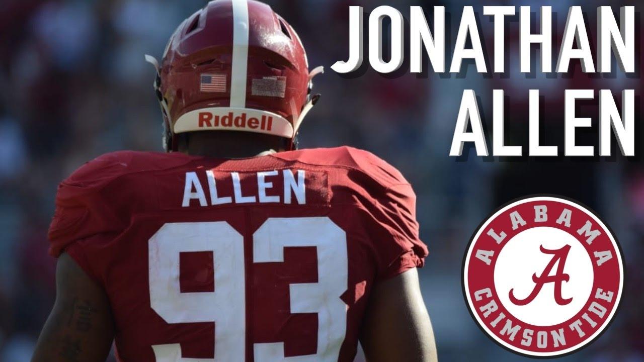 Fanatics View Draft Profile - Jonathan Allen (DE – Alabama)