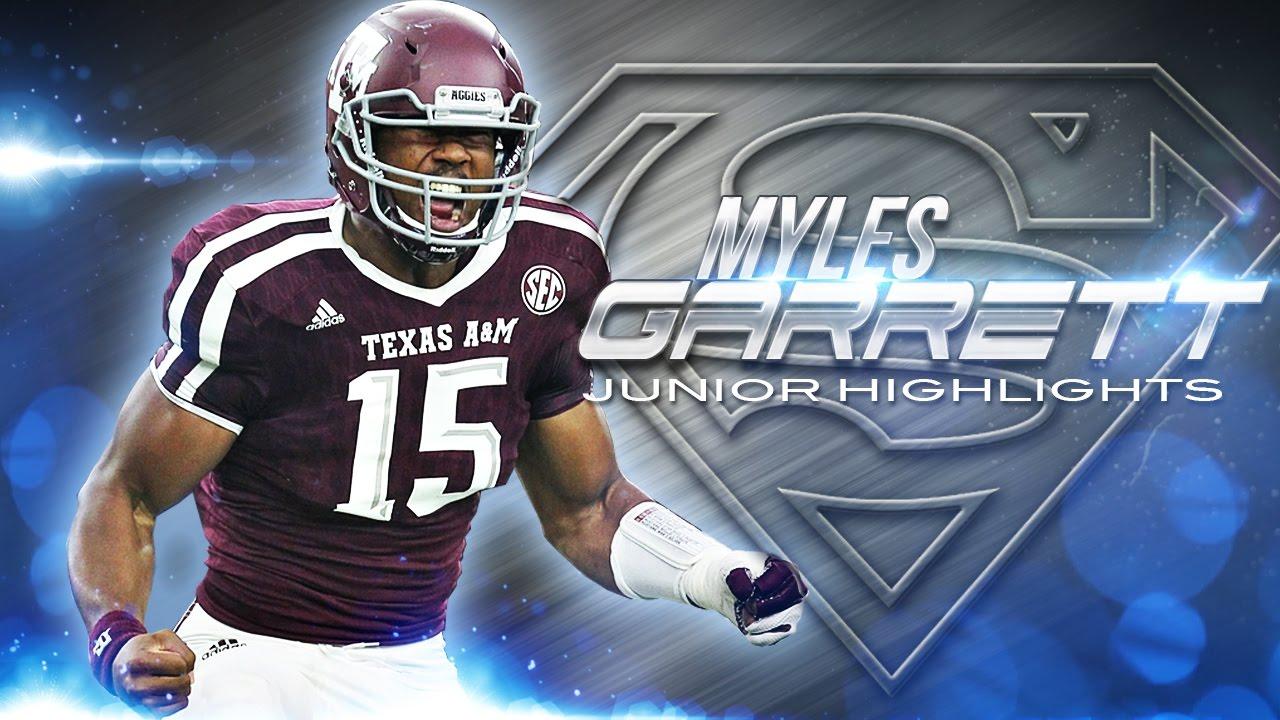 Fanatics View Draft Profile - Myles Garett (DE – Texas A&M)