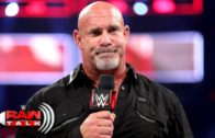 Goldberg potentially retires on Monday Night Raw after WrestleMania loss