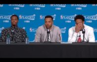 Kyle Lowry makes the media ask a question to Norman Powell