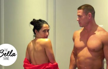 Nikki Bella & John Cena dance naked to celebrate 500,000 subscribers on YouTube