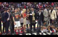 Raptors 905 presented with NBA D-League Championship Trophy (FV Exclusive)