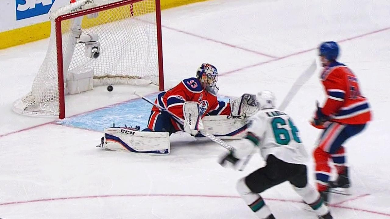 San Jose's Melker Karlsson scores beautiful OT goal to give Sharks Game 1 victory