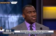 Shannon Sharpe responds to Dez Bryant's Instagram post about race in America