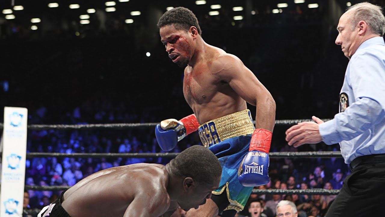 Shawn Porter defeats Andre Berto with a 9th round TKO